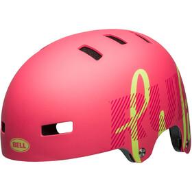 Bell Span Helmet matte flamingo/pear